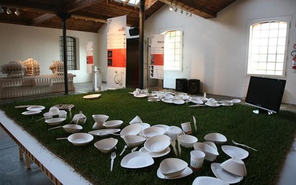 Design e sostenibilità: i piatti della linea design di Ecozema allo Schio Design Festival