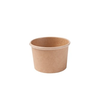 Coppa porta zuppa in cartoncino kraft 200 ml