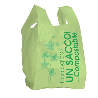 Shopper compostabile in Mater-bi